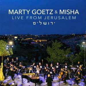 Marty Goetz & Misha, Live from Jerusalem – Music CD