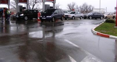 Протест срещу високите цени на горивата - Лукойл Черноморец