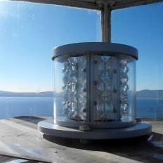 Новата ЛЕД глава на фара на остров Свети Иван край Созопол