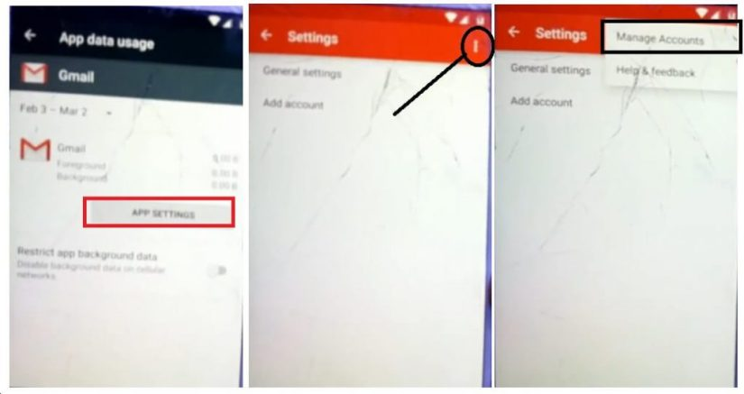 Manage Accounts to Motorola/Karbonn FRP Bypass – Unlock Google Gmail Lock (Android 6.0) Without PC Latest