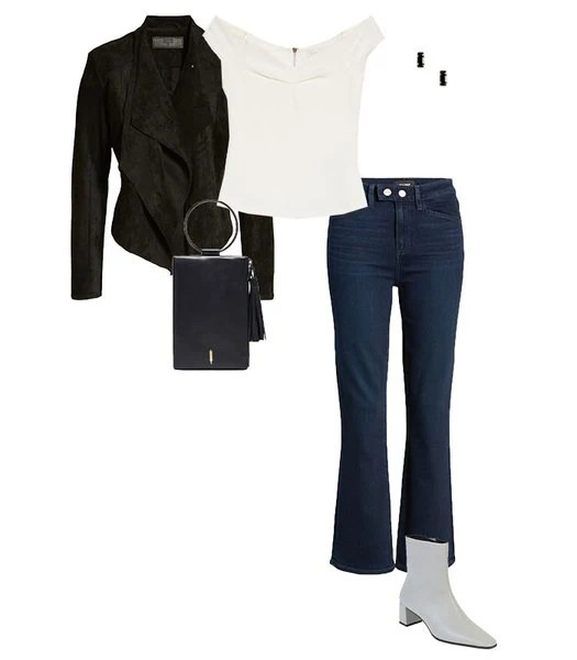 Conjunto jeans cintura alta |  40plusstyle.com