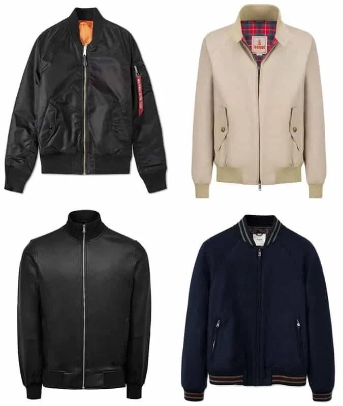 the best bomber jacket styles for men