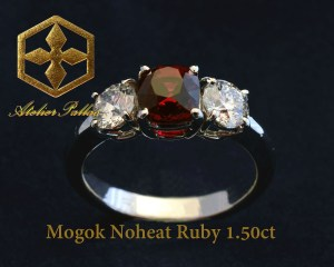 Mogok lady Ring
