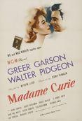 Poster de «Madame Curie»