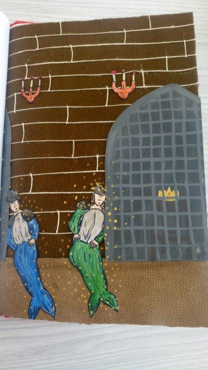 Książka Malwiny Kędroń z 7c