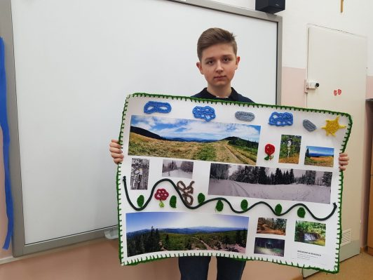 Wiktor Matuszek 8c Nagroda Dyrektora GOK Świnna