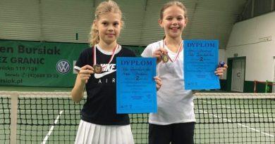 Ania i Pola z kolejnymi sukcesami w tenisie!