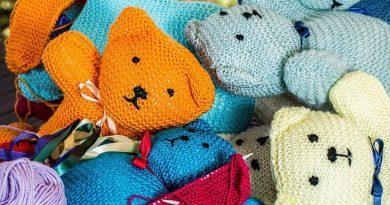 knitting, handwork, hobby