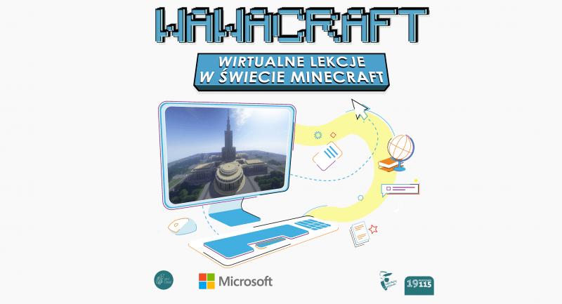 """Sukces naszych uczniów w projekcie """"WawaCraft""""!"""
