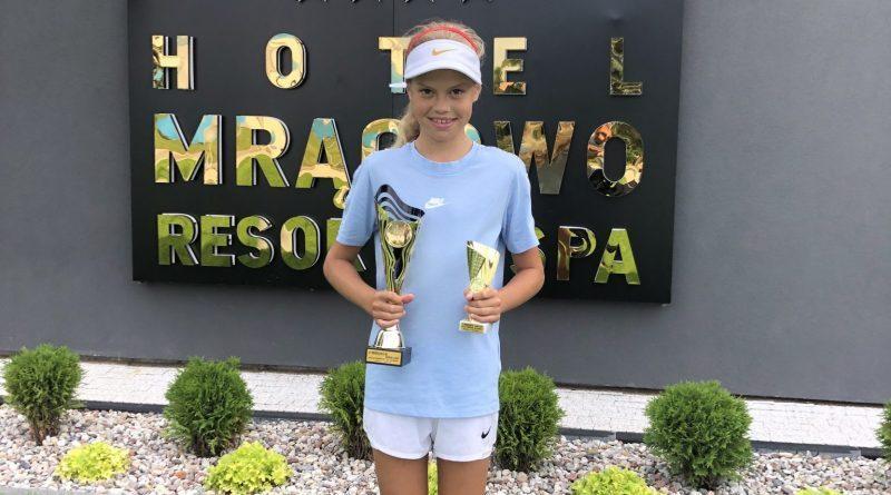 Wygrana Poli w turnieju tenisa!