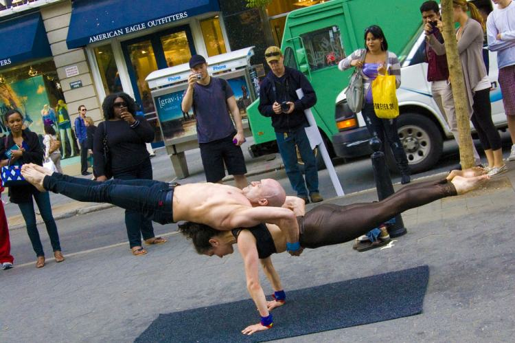 Contortionists, Union Square