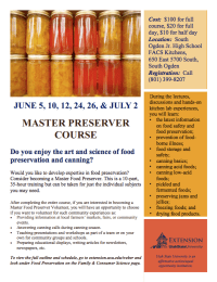 master preservation course