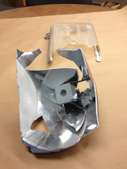 Headlight recovered from North Bend Hit and Run