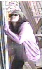 NB burglary Female Suspect