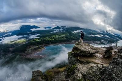 View from atop Rattlesnake Ridge/ Ledge. Photo by Melton Photograhy.