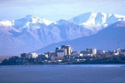 Anchorage, Alaska.  Courtesy Visit Anchorage Facebook page.