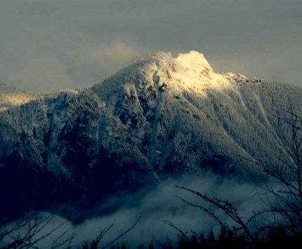 Stock photo of Mt. Si from 2/1/14. Photo by Derek Young