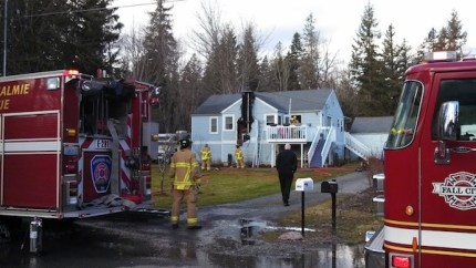Snoqualmie Fire Dept. responded to fire on Northern Street, 2/3/14