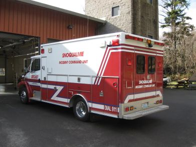 Snoqualmie SECAST vehicle.