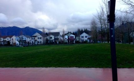 Space identified for future home of Snoqualmie's first skate park, located in Snoqualmie Community Park on Ridge Street.