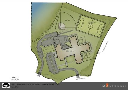 Site plans for ES #6.