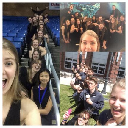 "Natalie Werner's selfie that won Reno Jazz Festival's ""Self Contest"" and earned the group a backstage pass to a special weekend Jazz concert."