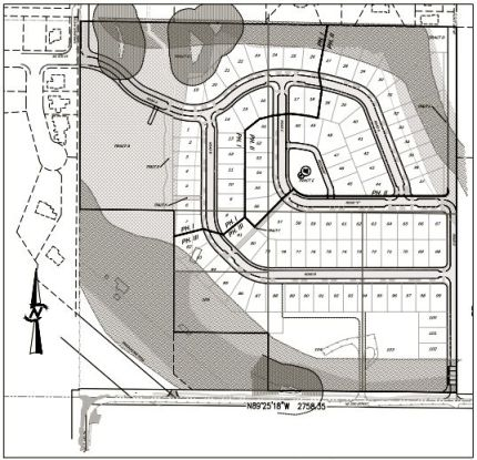 River Glen Subdivision Plat map. Photo: Screenshot: City of North Bend plat report