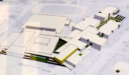 Rendering of design concept for re-built MSHS