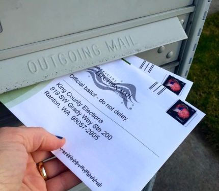 ballot in mail