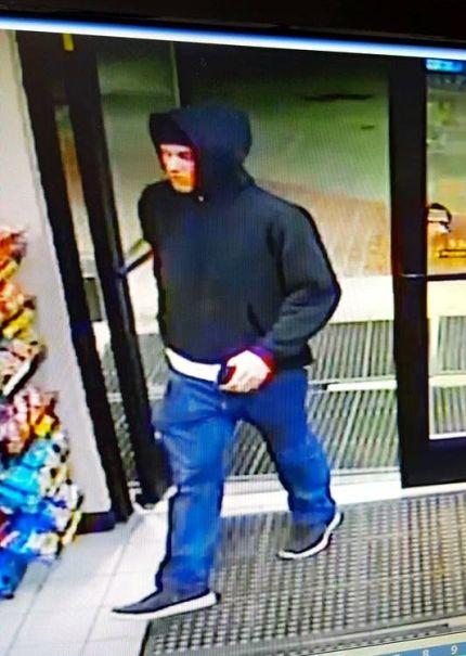 North Bend burglary suspect, 2/9/16