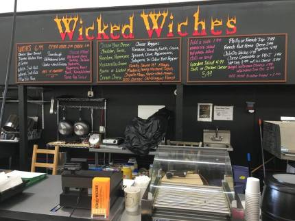 Wicked Witches Sandwich shop located in the back of the Snoqualmie Market at 8030 Railroad Ave SE in Snoqualmie.