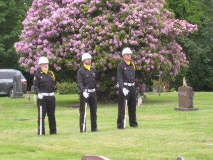 Past Snoqualmie Valley Memorial Day ceremony. Photo: Pam Collingwood