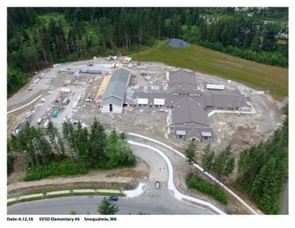 Timber Ridge ES as of 6-12-16. Photo: SVSD