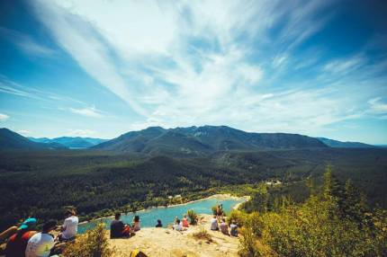 View from Rattlesnake Ledge by Sam Saimo