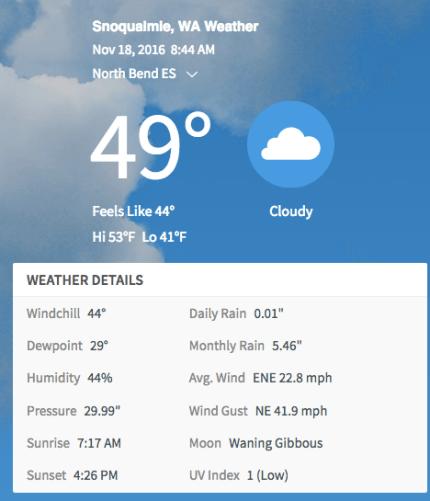 Photo: screenshot Weatherbug.com