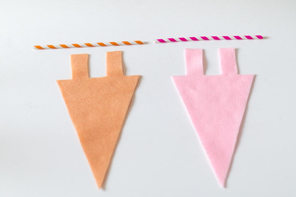 DIY cute pennant I Sp4nkblog