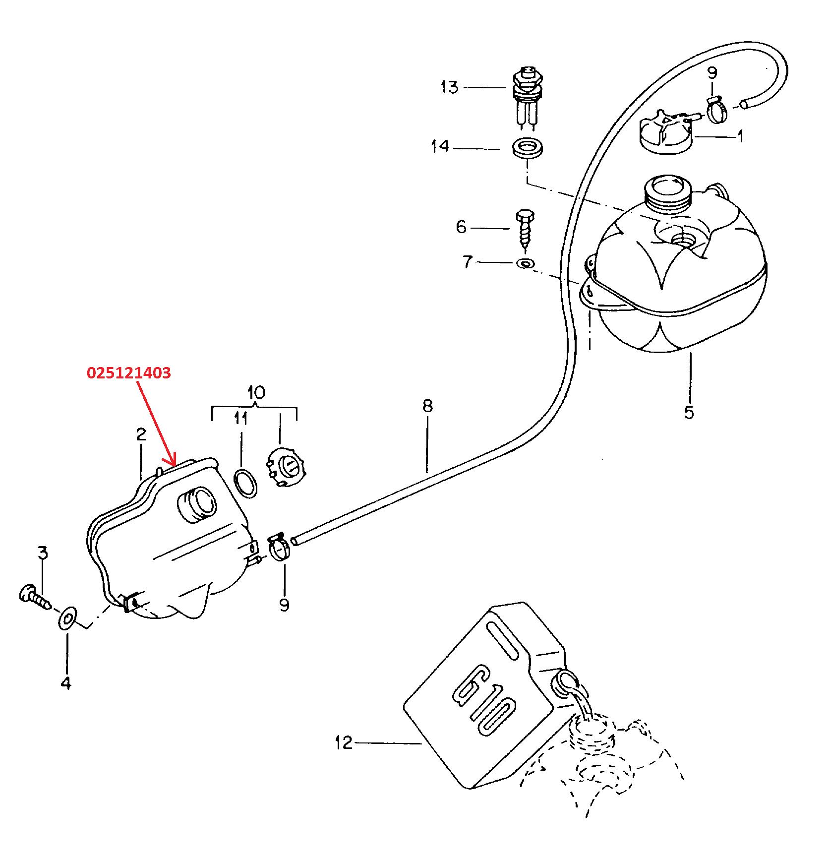 Deposito Anticongelante Inferior Combi 1 8