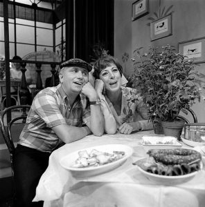 Leen Jongewaard en Hetty Blok (archieffoto)
