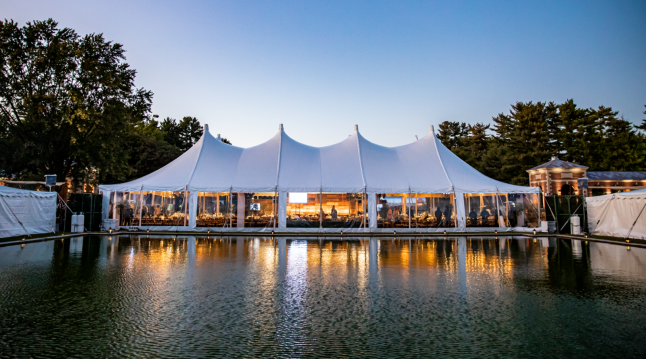 Friday Main Tent and Reflecting Pool_Bigler Productions