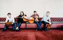 Calidore string Quartett Photo: Marco Borggreve