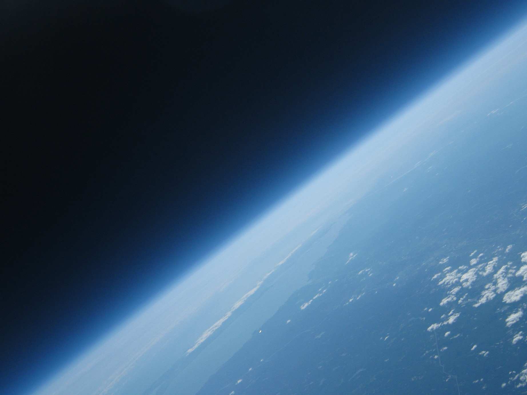 Earth from 93000 feet, courtesy of Project Icarus