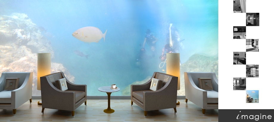 Modern public space interior design Sarasota Tampa