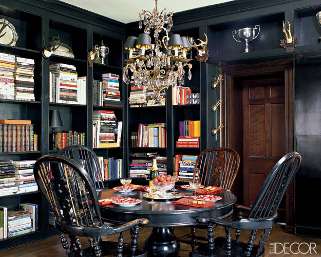 library-shelves-dining-room