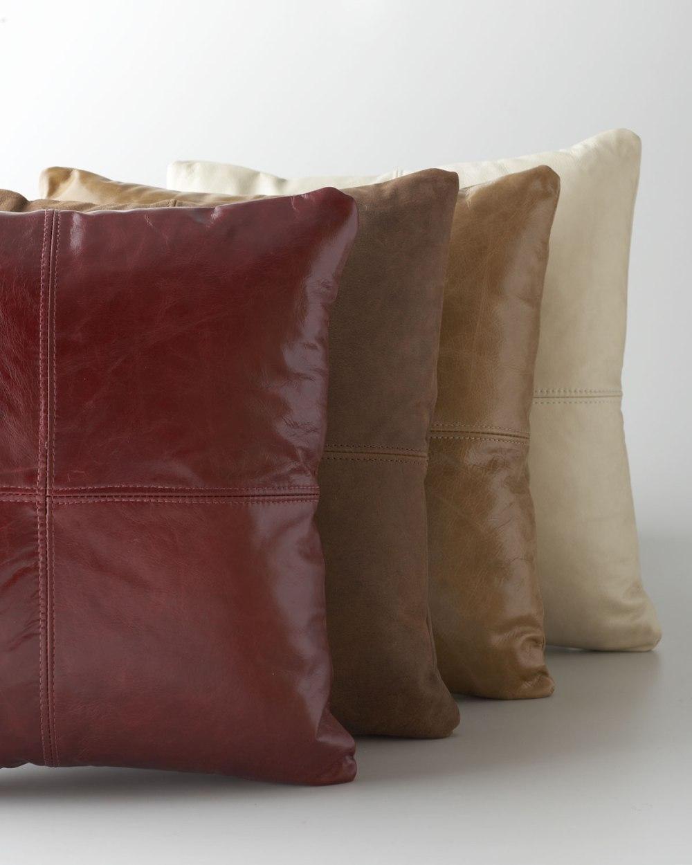 Massoud-Leather-Pillows
