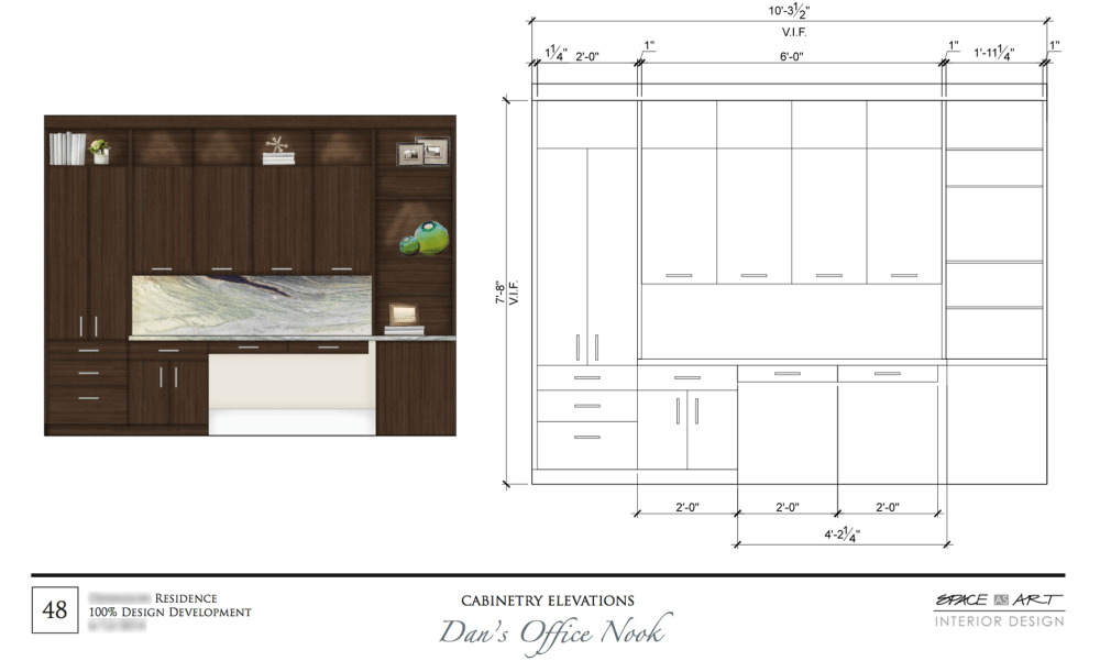 OfficeNookCabinetry
