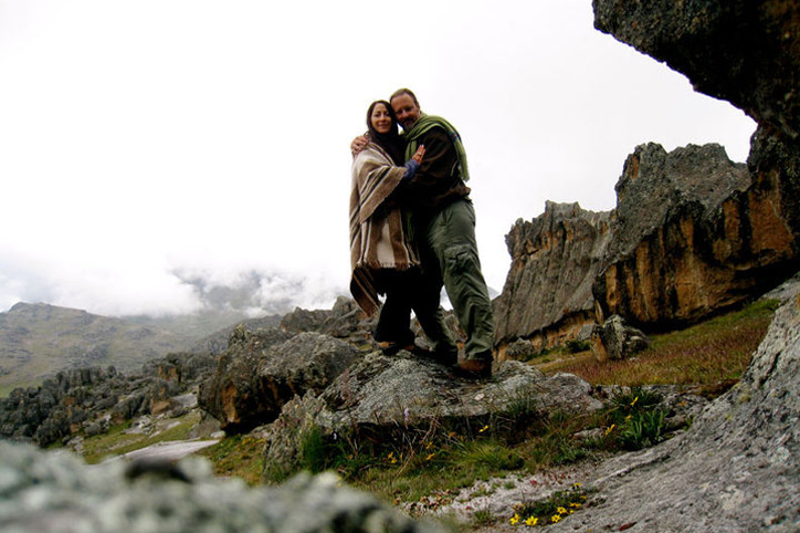 Osmunda & Darby on the rocks again