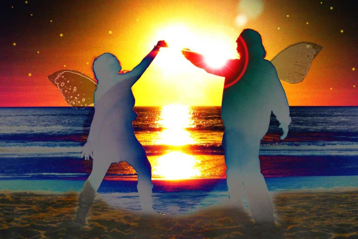 Space Babies sunset faerie dance