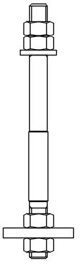 Анкерный болт Тип 2 Исполнение 2