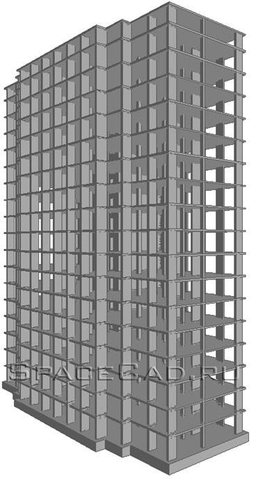 Общий вид здания (Перспектива)