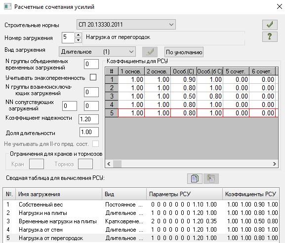 25-Создание таблицы РСУ